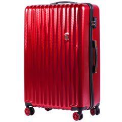 Cestovní kufr WINGS ABS POLIPROPYLEN BLOOD RED velký L
