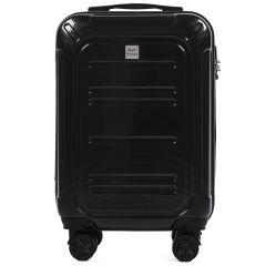 Cestovní kufr WINGS ABS POLIPROPYLEN RED malý S E-batoh