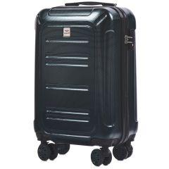 Cestovní kufr WINGS ABS POLIPROPYLEN DARK GREEN malý S