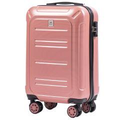 Cestovní kufr WINGS ABS POLIPROPYLEN PINK malý S