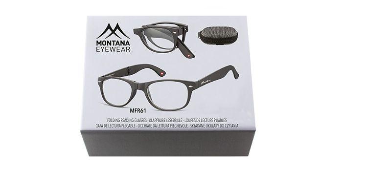 MONTANA EYEWEAR SKLÁDACÍ dioptrické brýle MFR61 +2,50