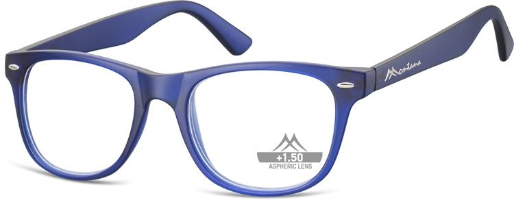 MONTANA EYEWEAR Dioptrické brýle MR67C BLUE +3,50