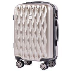 Cestovní kufr WINGS ABS POLIPROPYLEN BRONZE malý S