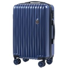 Cestovní kufr WINGS ABS POLIPROPYLEN BLUE malý S