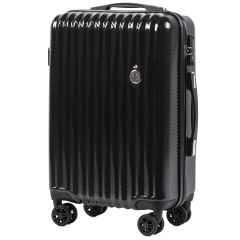 Cestovní kufr WINGS ABS POLIPROPYLEN BLACK malý S
