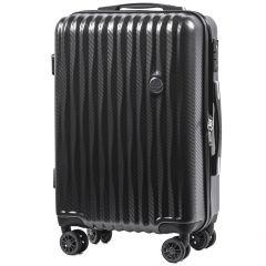 Cestovní kufr WINGS ABS POLIPROPYLEN DARK GREY malý S