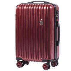 Cestovní kufr WINGS ABS POLIPROPYLEN VINE RED malý S