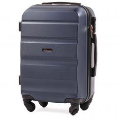 Cestovní kufr WINGS LOVEBIRD ABS DARK BLUE malý xS