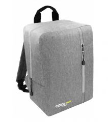 Příruční zavazadlo - batoh pro RYANAIR 40x25x20 GREY-GREY