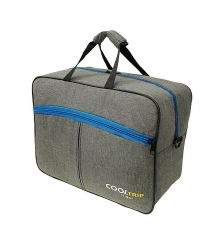 Příruční zavazadlo pro RYANAIR 34B 40x25x20 GREY-BLUE
