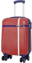 Cestovní kufr ABS BERGEN malý S červený