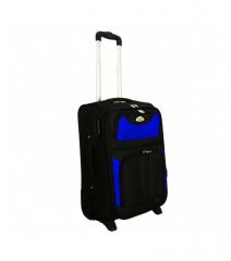 Cestovní kufr RGL 1003 BLACK-BLUE malý S