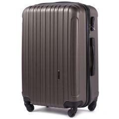 Cestovní kufr WINGS 2011 ABS COFFEE velký L