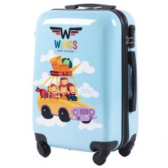 Skořepinový kufr CAR malý S