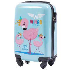 Skořepinový kufr FLAMINGO malý xS