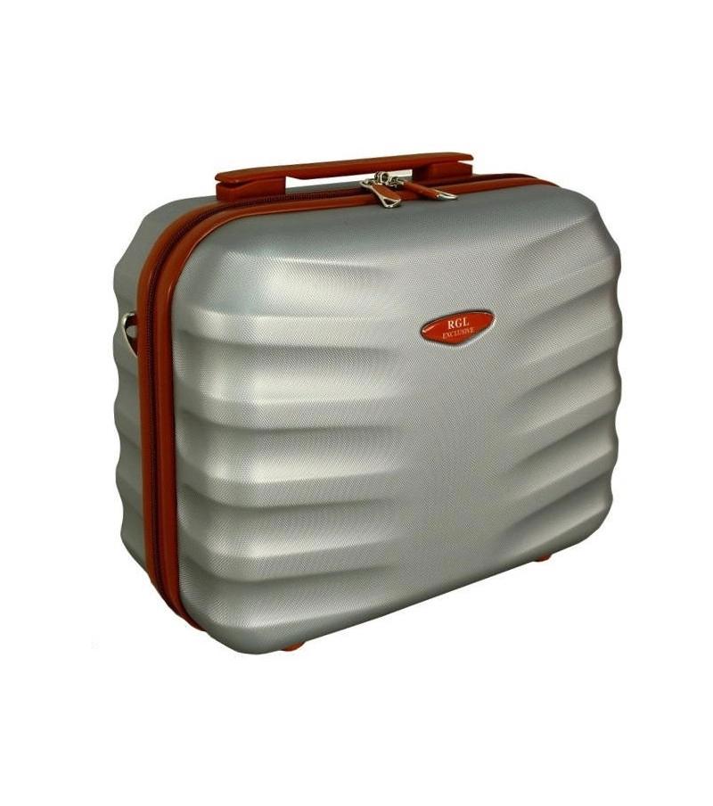 Kosmetický kufřík RODOS SILVER velký