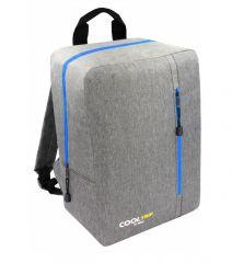Příruční zavazadlo - batoh pro RYANAIR 40x25x20 GREY-BLUE