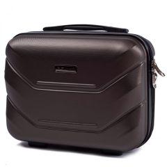 Kosmetický kufřík WINGS 147 ABS COFFEE