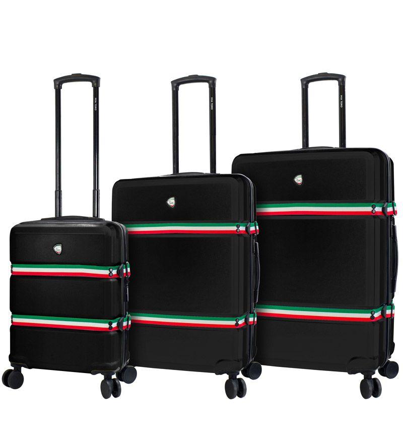 Sada cestovních kufrů MIA TORO M1543/3 - černá