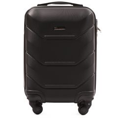 Cestovní kufr WINGS 147 ABS BLACK malý xS