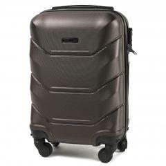 Cestovní kufr WINGS 147 ABS COFFEE malý xS