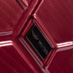 Cestovní kufr WINGS ABS-POLIPROPYLEN BLUE S TSA velký L E-batoh