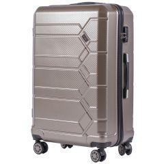 Cestovní kufr WINGS ABS-POLIPROPYLEN BRONZE S TSA velký L