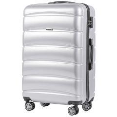 Cestovní kufr WINGS ABS-PP SILVER S TSA velký L