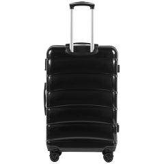 Cestovní kufr WINGS ABS-PP BLACK S TSA velký L E-batoh