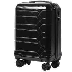 Cestovní kufr WINGS ABS-PP S TSA BLACK malý S