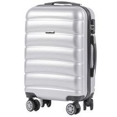 Cestovní kufr WINGS ABS-PP S TSA SILVER malý S