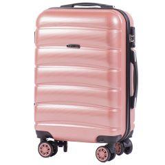 Cestovní kufr WINGS ABS-PP S TSA PINK malý S