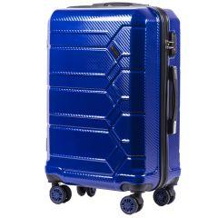 Cestovní kufr WINGS ABS-PP S TSA BLUE střední M