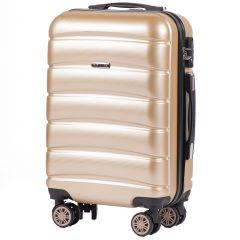 Cestovní kufr WINGS ABS-PP S TSA CHAMPAGNE malý S