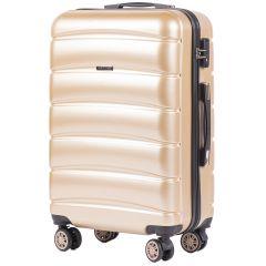 Cestovní kufr WINGS ABS-PP S TSA CHAMPAGNE střední M