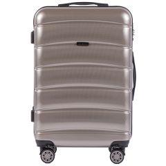 Cestovní kufr WINGS ABS-PP S TSA BRONZE střední M E-batoh