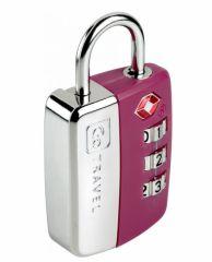 Go Travel zámek Secure Lock TSA violet