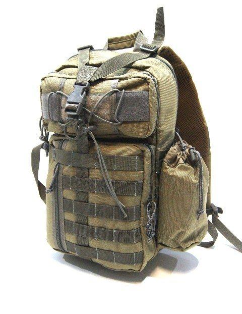Army batoh VOLUNTEER přes jedno rameno khaki