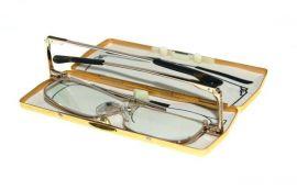 SKLÁDACÍ dioptrické brýle SLIM R827 +1,00 v pouzdru E-batoh