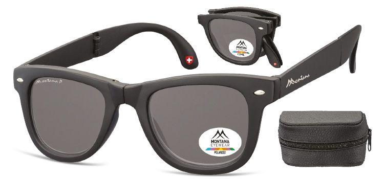 MONTANA EYEWEAR Sluneční skládání brýle BOX-FS40 polarizační čočka