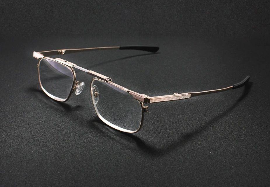 SKLÁDACÍ dioptrické brýle SLIM R827 +2,00 v pouzdru