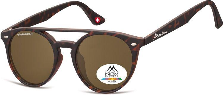 Polarizační brýle MONTANA MP49C brown lenses Cat.3 + pouzdro