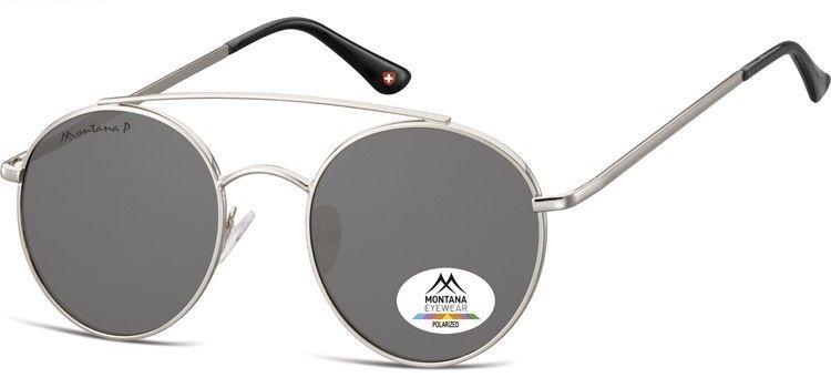 Polarizační brýle MONTANA MP84A smoke lenses (Flat lenses) Cat.3 + pouzdro