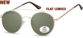Polarizační brýle MONTANA MP84B green lenses (Flat lenses) Cat.3 + pouzdro MONTANA EYEWEAR E-batoh