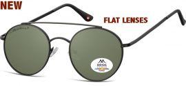 Polarizační brýle MONTANA MP84E green lenses (Flat lenses) Cat.3 + pouzdro MONTANA EYEWEAR E-batoh