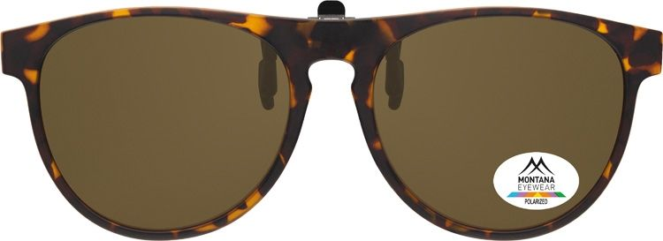 Polarizační KLIP NA BRÝLE C6B brown lenses + pouzdro