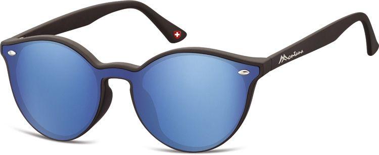 Sluneční brýle MONTANA MS46 Cat.3  zrcadlová modrá čočka + pouzdro