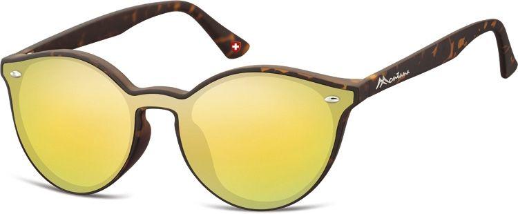 Sluneční brýle MONTANA MS46C Cat.3 Revo yellow gold + pouzdro