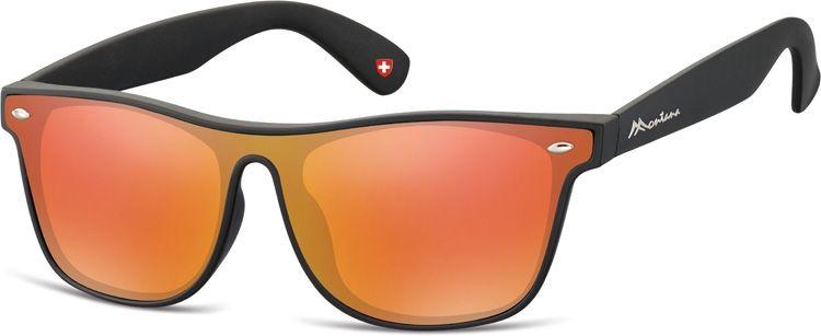 Sluneční brýle MONTANA MS47E Cat.3 Revo red + pouzdro