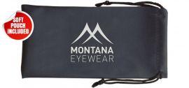 Sluneční brýle MONTANA MS51 Cat.3 Revo blue lenses + pouzdro MONTANA EYEWEAR E-batoh